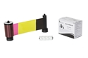 Picture of Smart-30D/Smart-50D duo 4+1 ribbon/dye film (YMCKO/black) - 200 print. Smart 55650637 SIADC-P-YMCKOK